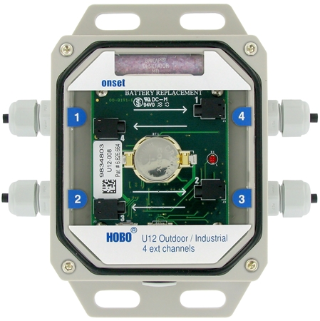 Picture of HOBO U12-008 -  4-Channel External Data Logger