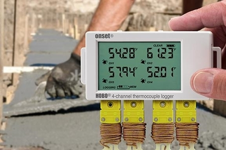 Picture of Concrete Curing Temperature Data Logger Kit